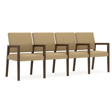 Brooklyn Series 4 Seat Sofa with Center Arms