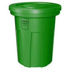 40 Gallon Cobra Food Grade/General Use Trash Can - Green