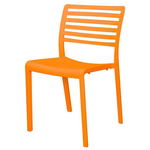 Our Savannah Outdoor Stackable Armless Side Chair - Orange is on sale now.