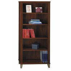 Somerset 5-Shelf Bookcase - Hansen Cherry