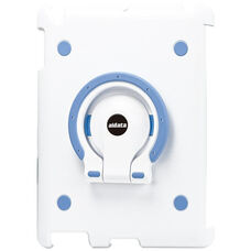 MultiStand for Various Generation iPads - White Shell with White and Blue Ring