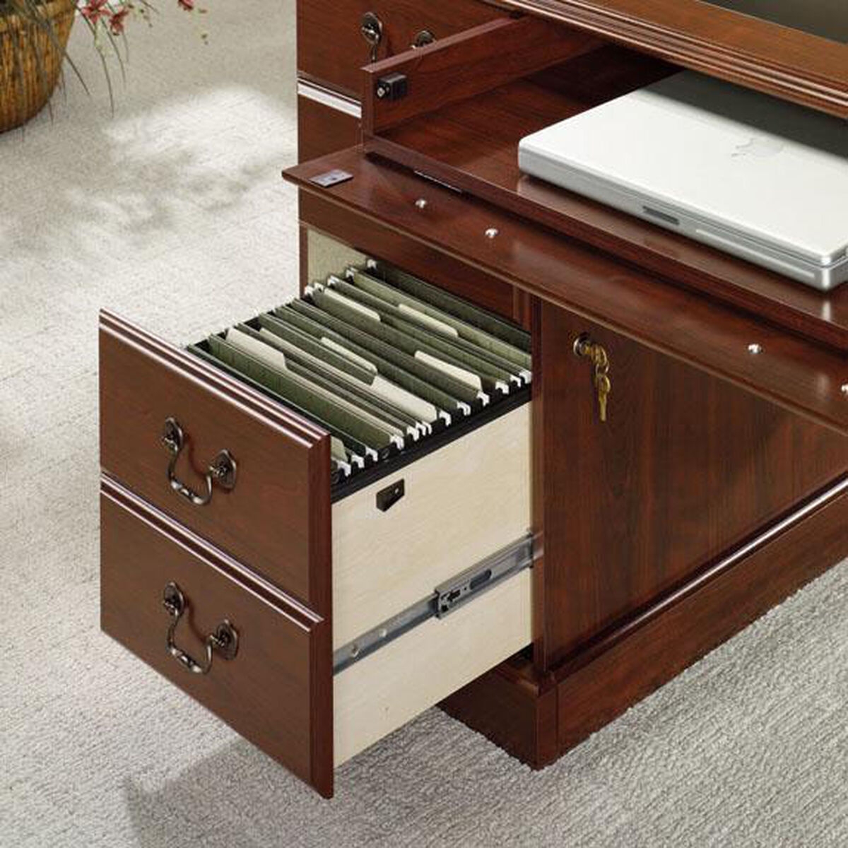Our Heritage Hill 64 75 W Executive Desk Classic Cherry Is On Now