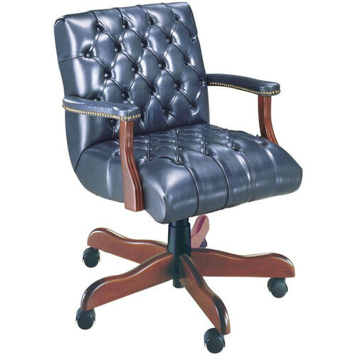 Our Quick Ship Scoop Traditional Management Swivel Chair with Platform Arms is on sale now.
