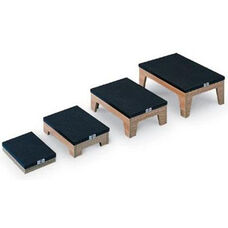 Wooden Nested Footstools - Set of 4 - Oak Laminate