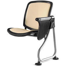 Ready Link Row Add-On Chair with Tablet - Peach