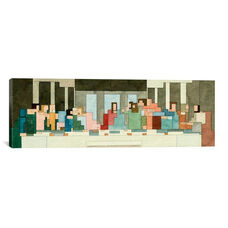 The Last Supper by Adam Lister Gallery Wrapped Canvas Artwork - 36