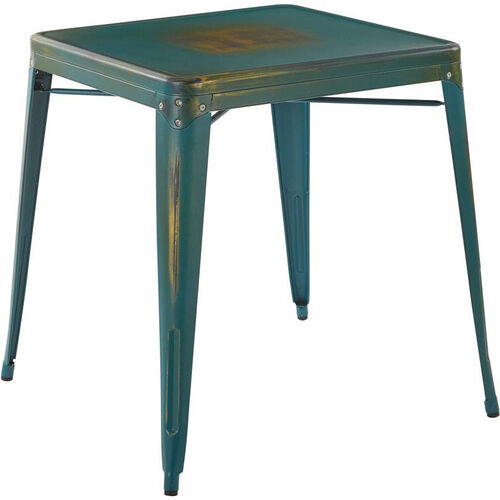Our OSP Designs Bristow Metal Table - Antique Turquoise is on sale now.