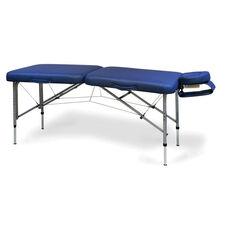 Portable Adjustable 24''-32'' H Massage Table - Indigo Blue Urethane