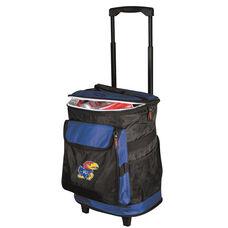 University of Kansas Team Logo Rolling Cooler