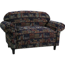 91002 Juvenile Loveseat w/ Tapered Feet - Grade 2