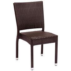 Monterey Stackable Side Chair Java Wicker