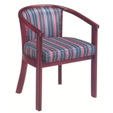 2600 Lounge Chair w/ Upholstered Back & Seat - Grade 1