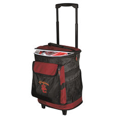 University of Southern California Team Logo Rolling Cooler