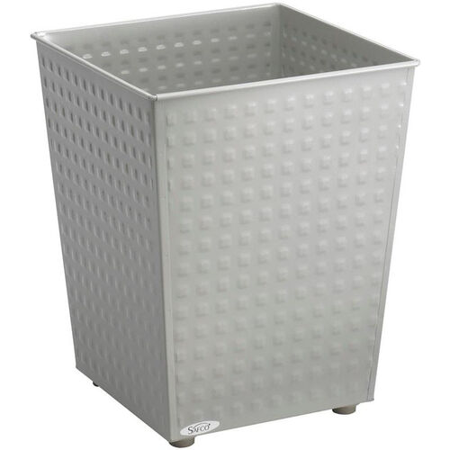 Our At-Your-Disposal® 6 Gallon Checks Wastebaskets - Set of Three - Gray is on sale now.