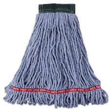Rubbermaid® Commercial Web Foot Wet Mop Head - Shrinkless - Cotton/Synthetic - 5