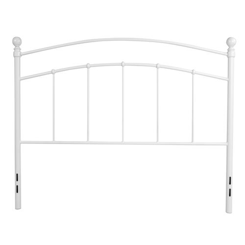 Our Woodstock Decorative White Metal Full Size Headboard is on sale now.