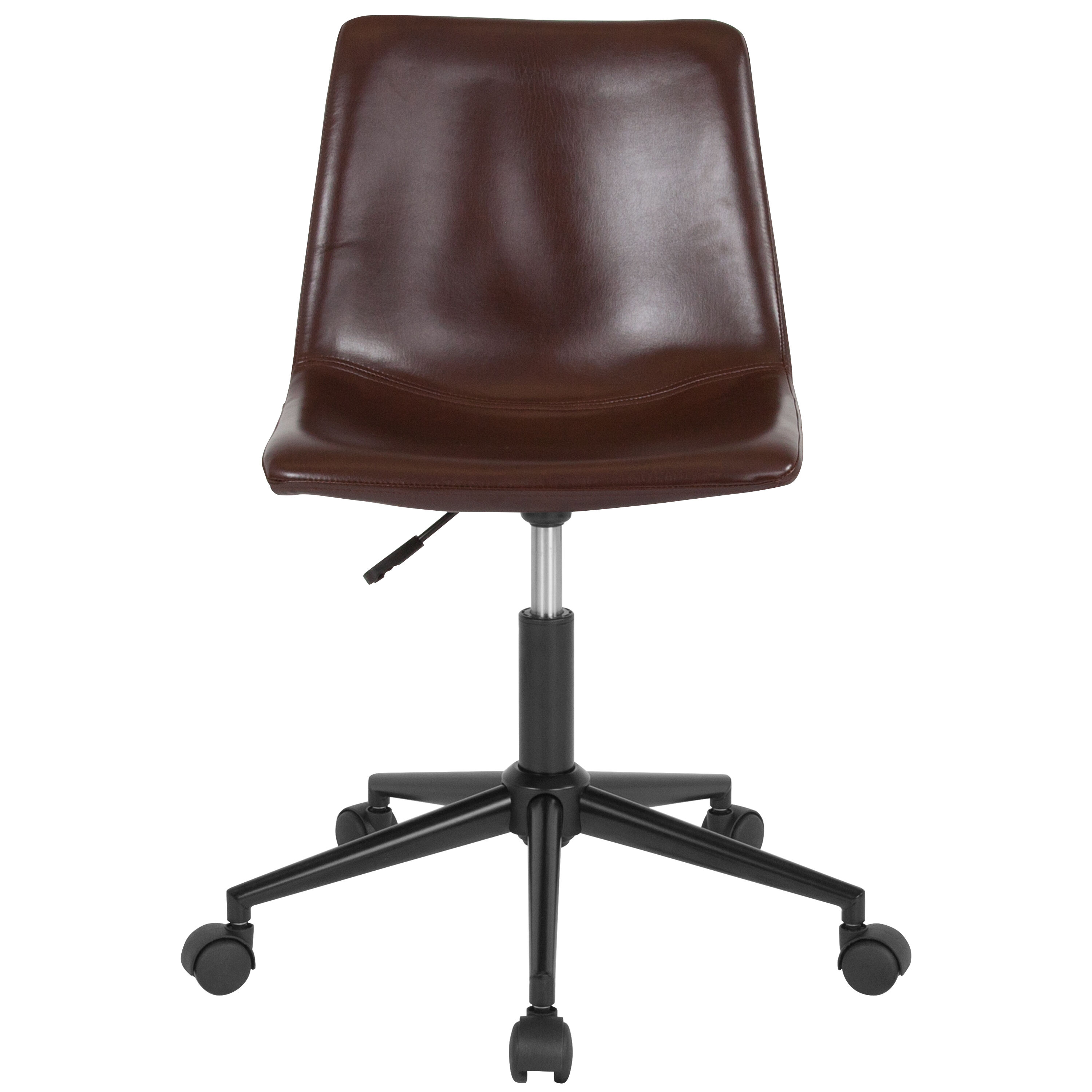 Our Siena Home and Office Task Chair in Brown Leather is on sale now.  sc 1 st  Biz Chair & Brown Leather Task Chair DS-530A-BRN-GG | Bizchair.com
