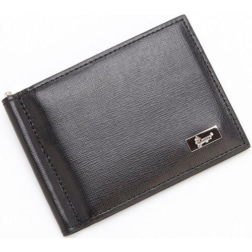 Our RFID Blocking Money Clip Credit Card Front Pocket Wallet -Saffiano Genuine Leather - Black is on sale now.