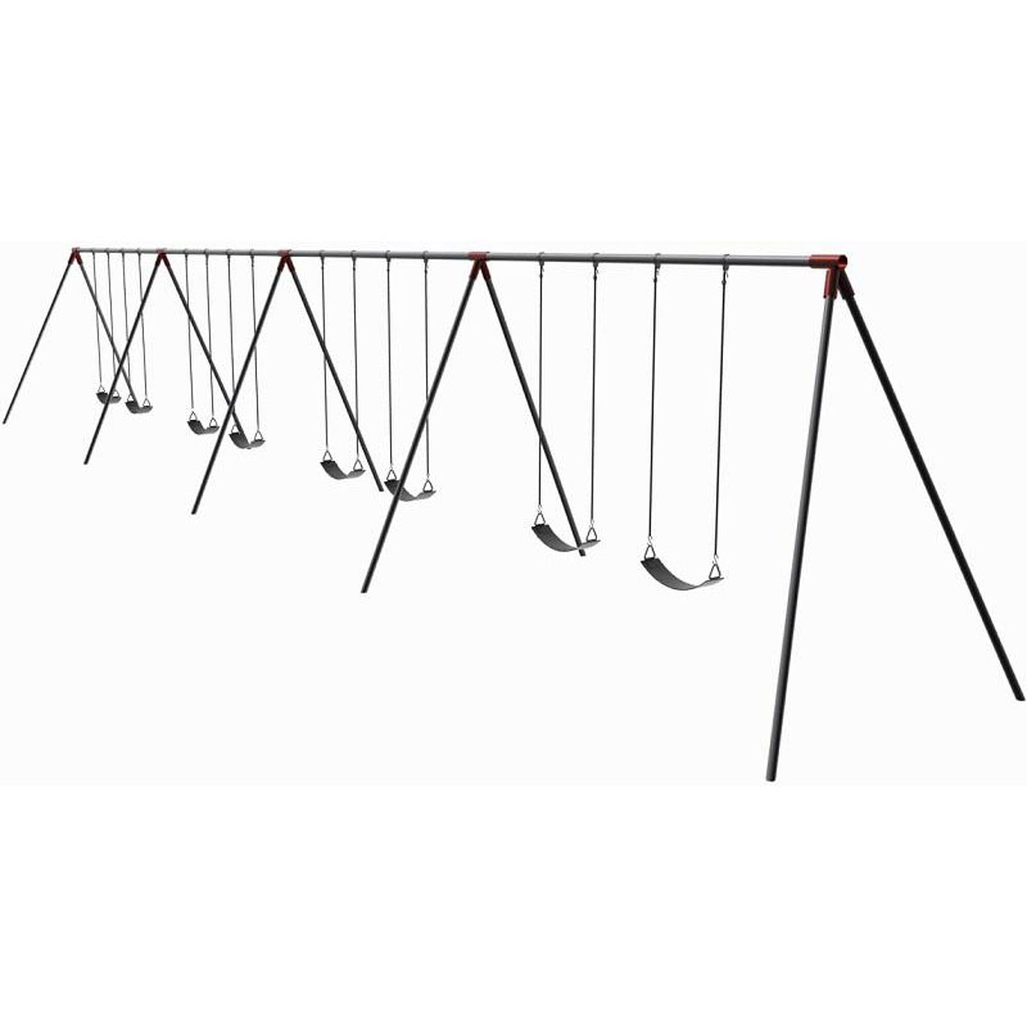 8 Seat Primary Bipod Swing Set 581 818x Bizchair Com