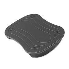 Safco® Foot Rocker Footrest - 17-1/2w x 11-1/2d x 3-1/2h - Black
