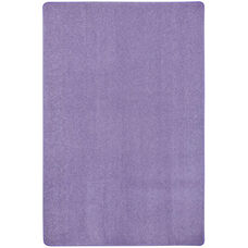 Kid Essentials Just Kidding Polyester Rug with Actionbac Backing - Very Violet - 48