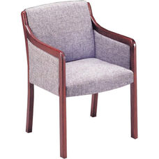 Quick Ship Upholstered Arm Guest Chair