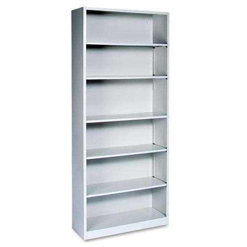 Our HON® Metal Bookcase - Six-Shelf - 34-1/2w x 12-5/8d x 81-1/8h - Light Gray is on sale now.
