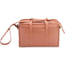 Soft Sided Briefcase - Milano Top Grain Leather - Tan