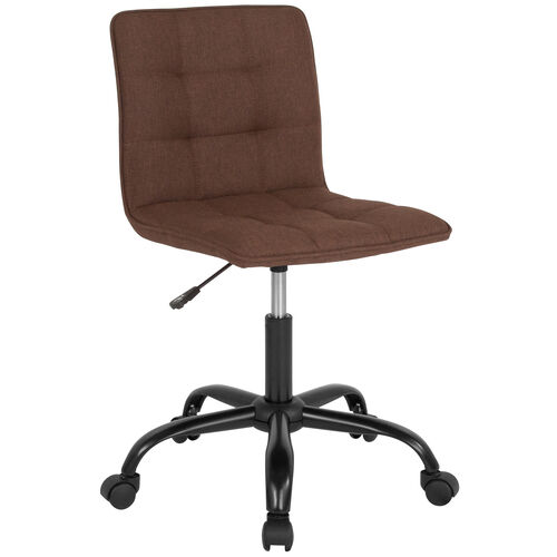 Our Sorrento Home and Office Task Chair in Brown Fabric is on sale now.