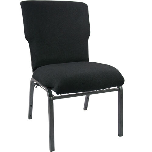 Our Advantage Black Discount Church Chair - 21 in. Wide is on sale now.
