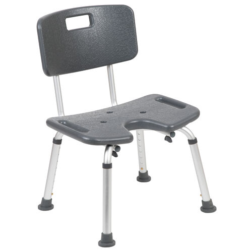 Our HERCULES Series Tool-Free and Quick Assembly, 300 Lb. Capacity, Adjustable Bath & Shower Chair with U-Shaped Cutout is on sale now.