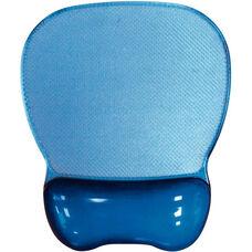 Crystal Transparent Gel Mouse Pad Wrist Rest - Blue