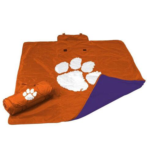Clemson University Team Logo All Weather Blanket