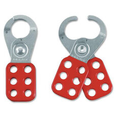 Master Lock Company Steel Lockout Safety Hasps