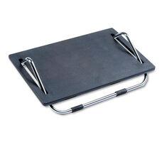 Safco® Ergo-Comfort Adjustable Footrest - 18-1/2w x 11-1/2d - Black