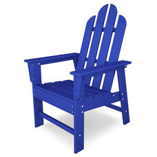 POLYWOOD® Long Island Dining Chair - Vibrant Pacific Blue