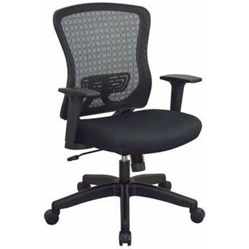 Our Space Seating CHX Dark Breathable Mesh Back and Padded Mesh Seat Managers Office Chair - Black is on sale now.