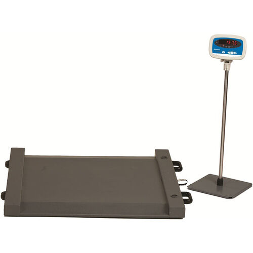 Our Stainless Steel Drum Scale with Built in Ramp Ends - 1000 lb Capacity is on sale now.