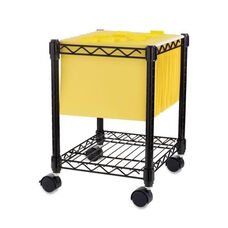 Lorell Compact Mobile Cart - 15 -1/2