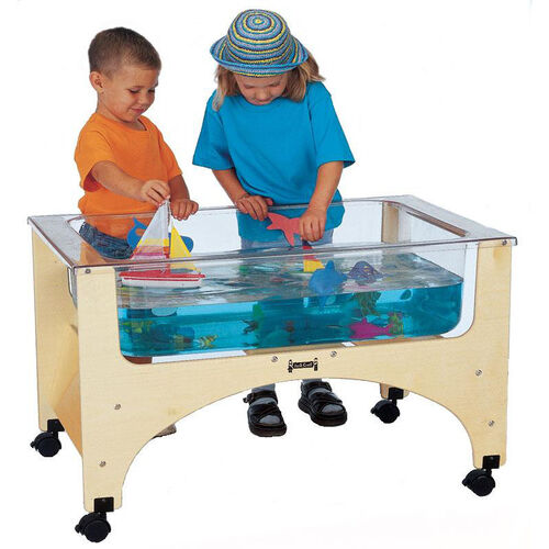 Our See-Thru Sand-n-Water Table is on sale now.