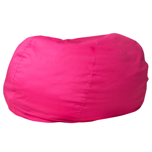 Our Oversized Solid Hot Pink Bean Bag Chair for Kids and Adults is on sale now.