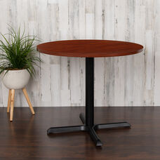 "36"" Round Multi-Purpose Conference Table in Cherry"