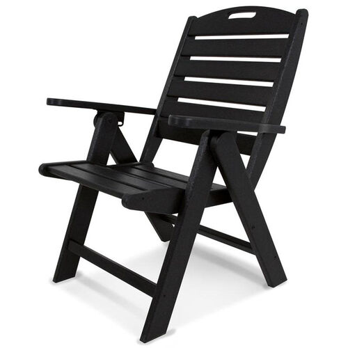 Our POLYWOOD® Nautical Highback Chair - Black is on sale now.