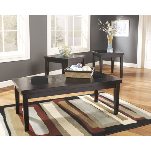 Our Signature Design by Ashley Denja 3 Piece Occasional Table Set is on sale now.
