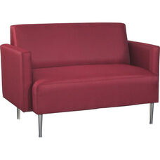 Quick Ship Eve Loveseat with Arms