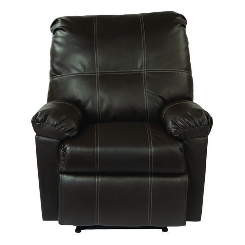 Our OSP Designs Kensington Eco Leather Recliner - Espresso is on sale now.