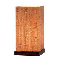 Sedona Table Lantern - Walnut