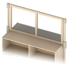 KYDZSuite™ Upper Deck Divider - Mirror