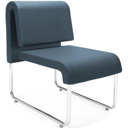 Our UNO Lounge Chair - PU Navy is on sale now.