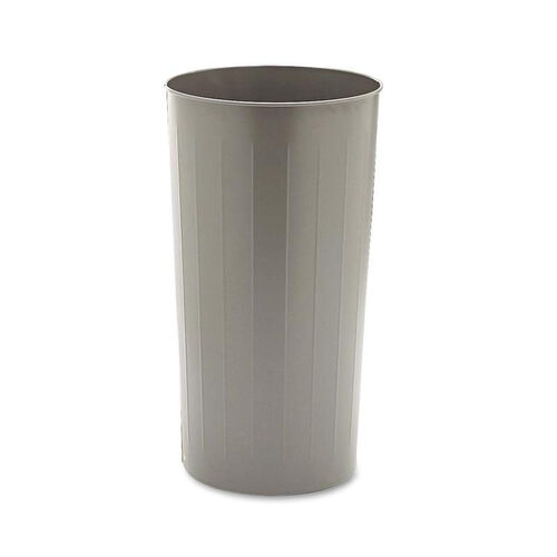 Our Safco® Round Wastebasket - Steel - 20gal - Charcoal is on sale now.